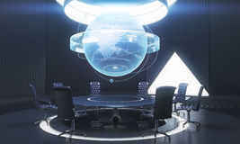 Dark conference room Royalty Free Stock Images