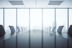 Free Dark Conference Table Stock Photography - 77190522