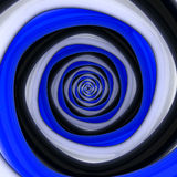 Dark contrast vortex Stock Images