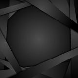 Dark corporate abstract background Royalty Free Stock Images