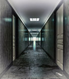 Dark corridor Royalty Free Stock Image