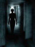 Dark corridor Stock Photo