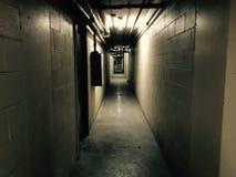 Dark corridor Royalty Free Stock Images