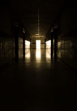 Dark corridor Royalty Free Stock Photography