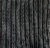 Dark cotton texture Royalty Free Stock Photos