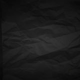 Dark creased paper Royalty Free Stock Photography