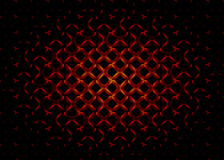Dark cross rectangle abstract background Royalty Free Stock Photos