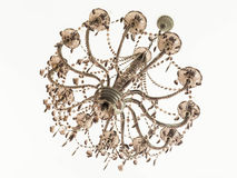 The dark crystal chandelier Royalty Free Stock Photo