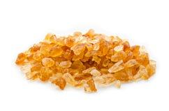 Dark crystal sugar. Royalty Free Stock Image