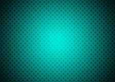 Dark Cyan Neon Green Blue Techno Ornamental Pattern Background Wallpaper Stock Photo