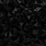 Dark 3d triangular background Stock Photos