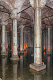 Basilica cistern 02 Stock Photography