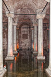 Basilica cistern 03 Royalty Free Stock Photos