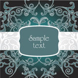 Dark decorative frame Stock Images
