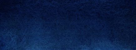 Dark deep blue texture. Night sky or sea abyss. Saturated bright. Background. Hand drawn watercolor Royalty Free Stock Photography