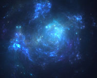 Dark deep space starfield Royalty Free Stock Image