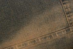 Dark denim texture Stock Images