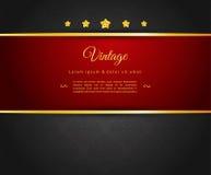 Dark design template Stock Image
