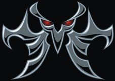 Dark devil symbol Royalty Free Stock Photo