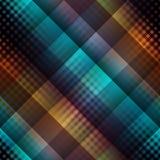 Dark diagonal plaid pattern Stock Images