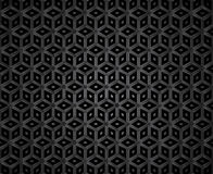 Dark diamond shape mosaic pattern Royalty Free Stock Image