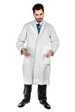 Dark doctor Royalty Free Stock Photos