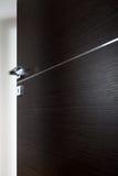Dark door open b. Dark door open, with the handle, on white background royalty free stock images