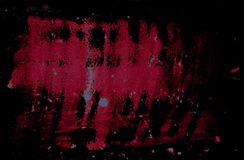 Dark dramatic background. Abstract dramatic background with grunge red spots on black background vector illustration