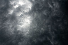 Dark dramatic sky Royalty Free Stock Photo