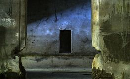 Dark Dreams. Photo taken at Battery Russell, Fort Stevens State Park, Oregon Stock Photo
