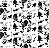 Dark drunk pattern vector illustration