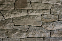Dark dry stone wall Royalty Free Stock Photos