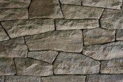 Dark dry stone wall Royalty Free Stock Photos