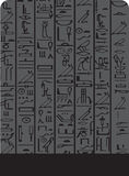 Dark Egypt background Royalty Free Stock Photography
