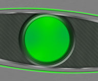 Dark Eye Shapes Green Background Royalty Free Stock Images