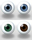 Dark eyes Royalty Free Stock Photos