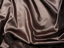 Dark fabric as background Royalty Free Stock Images