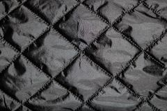 Dark fabric creasy textile surface texture. High quality, dark fabric creasy textile surface texture in good condition stock photos