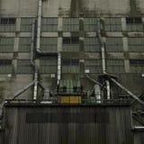 Dark factory Royalty Free Stock Image