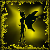 Dark Fairy Stock Photography