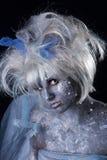 Dark Fairy. A dark and surreal fairie creature Stock Image