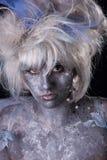 Dark Fairy. A dark and surreal fairie creature Royalty Free Stock Photo