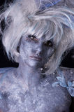 Dark Fairy. A dark and surreal fairie creature Royalty Free Stock Images
