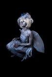 Dark Fairy. A dark and surreal fairie creature Royalty Free Stock Photography