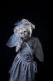 Dark Fairy. A dark and surreal fairie creature Stock Images