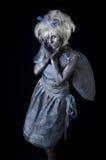 Dark Fairy. A dark and surreal fairie creature Stock Photos