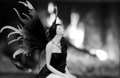 Dark fairy Royalty Free Stock Image
