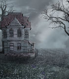 Dark Fantasy Background Stock Photo