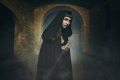 Dark fantasy thief Royalty Free Stock Images
