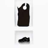 Dark fashion. Modern Urban style. Royalty Free Stock Photos